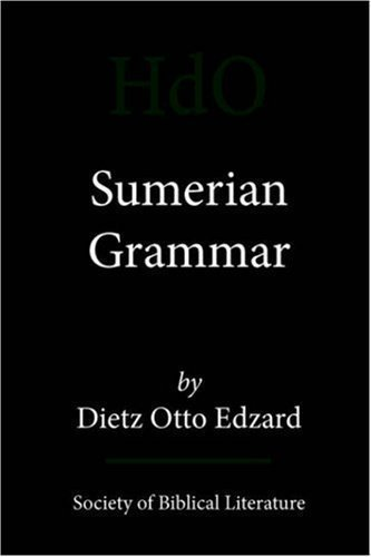 Sumerian Grammar (Handbook of Oriental Studies) Bilingual Edition by Edzard, Dietz Otto [2003]