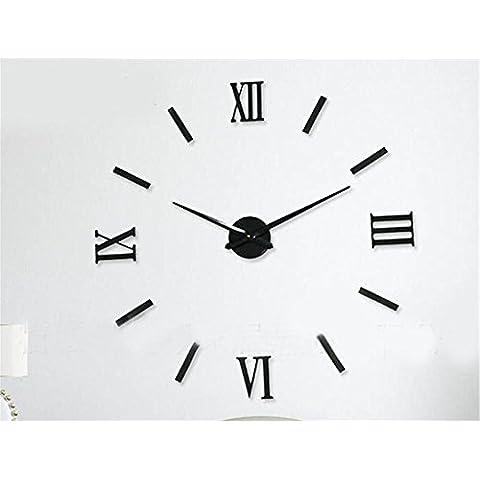 GYN Continental creativo acrilico decorazione casa di oggettistica per la decorazione artistica di DIY Orologio minimalista Wall Sticker orologio - Primo Anno Sticker Calendario