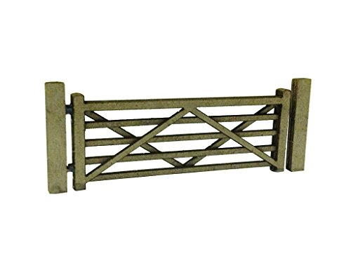laser-cut-five-bar-gates-posts-for-model-railway-pack-of-3-oo-4mm-176