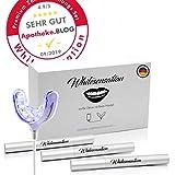 Whitesensation Zahnaufhellung Set Professionelles Bleaching für weiße Zähne - Teeth Whitening Kit - Homebleaching - Geld zurück Garantie - Zahnweiß