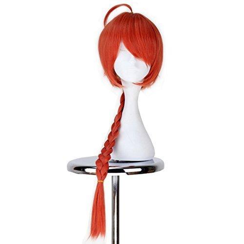 Miss U Hair Silver Soul Gintama Kamui Long Straight Braid Anime Cosplay Wig by Miss U Hair