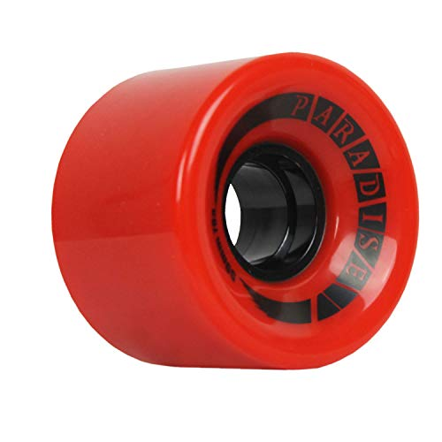 Paradise Skateboard Cruiser Rollen 59 mm 78 A Rot Old School Filmer