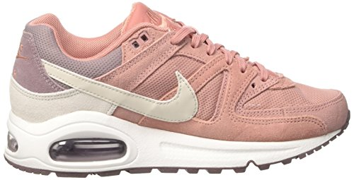 Nike Damen Women's Nike Air Max Command Shoe Hallenschuhe Mehrfarbig (REB STARDUST/LIGHT BONE-TAUPE GREY-WHITE)