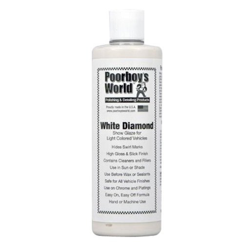 Poorboys White Diamond Show Car Glaze Kit COMES WITH APPLICATOR - Show car cleaning products