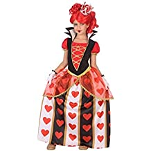 Atosa-56873 Disfraz Reina Corazones, Color Rojo, 10 a 12 años (56873