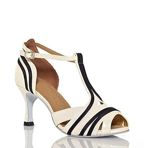 Miyoopark , Salle de bal femme - Blanc - Black/White-7.5cm heel, 38