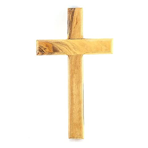 Genuine Olive Wood Wall Hanging Cross