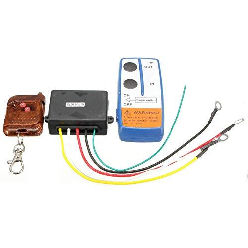 VISTARIC 12V 75ft Winde Wireless Remote Key Fob Schlüsselbund Controller Kits für Tuff Zeug Keychain Remote Kit