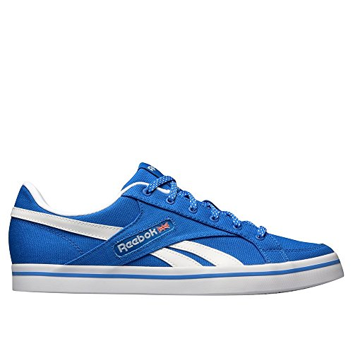 Reebok Herren Lc Court Vulc Low Turnschuhe Blau / Weiß (Blue Sport / Weiß)