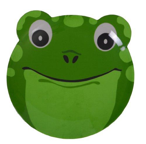 epicurean-39rq8110f-melamine-friendly-faces-frog-design-plate-25-x-215-x-17-cm-green