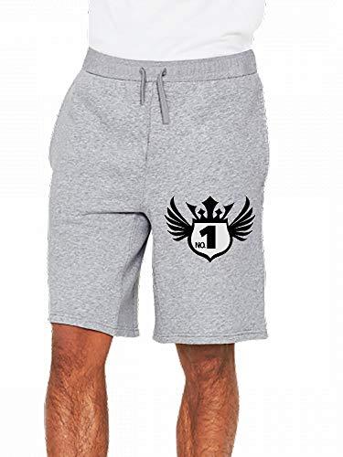 JiJingHeWang Schild 1 Mens Casual Shorts Pants -