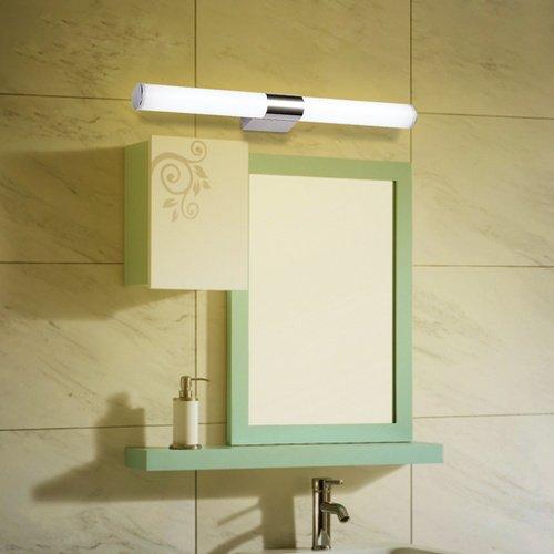 Vingo® 12W TOP LED Acryl Spiegellicht 960LM Badleuchte Bilderleuchte für Feuchtraum ,FARBE: Warmweiß