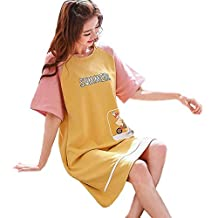 Camisón de primavera y verano para mujer, lindo camisón de manga de conejo, ropa