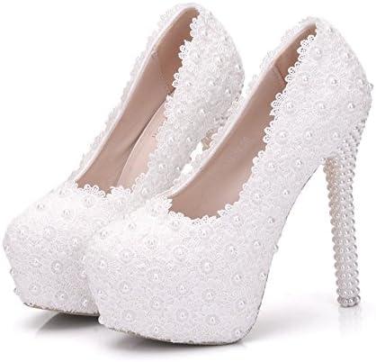 SL-Wedding Zapatos de Boda Novia/Apliques Zapatos de boda de encaje/Zapatos de mujer de la boda Zapatos de bodaUn...