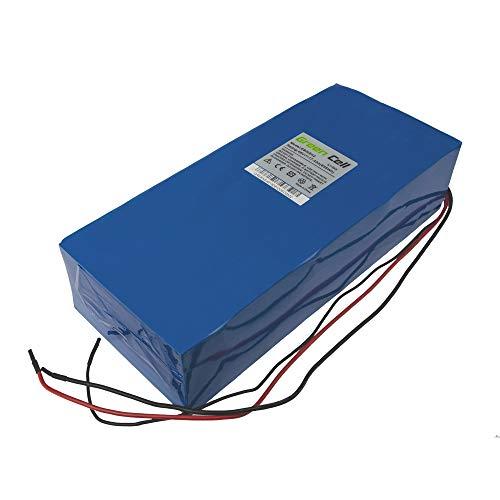 Green Cell EBIKE 48V 17.4Ah Batterie Akku Pedelec Battery Pack mit Ladegerät und Li-Ion Panasonic Zellen Emountainbike Everly Vilano Hollandia Liqfeel Elektrofahrräd