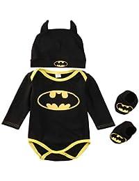 3 Unids 2020 Ropa Bebe Verano BebéS ReciéN Nacidos Bebe NiñOs Mamelucos Zapatos Trajes De Sombrero Ropa Set Bebé Fresco Traje De Tela