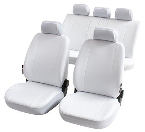 Car Comfort 13147 Autositzbezug Nerja Weiss Komplett Set