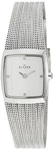Skagen Steel 380XSSS1 - Reloj de mujer de cuarzo, correa de acero inoxidable color plata de SKAGEN
