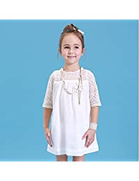 74355797e Amazon.es  vestidos blanco playa - Niña  Ropa