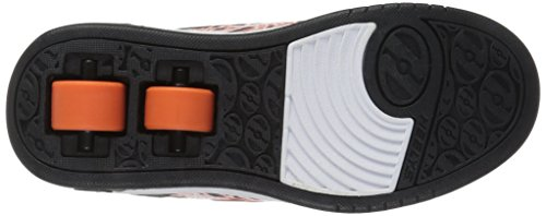 Heelys Dual Up, Sneaker a Collo Basso Bambino Grigio (Charcoal / Orange / Electricity)