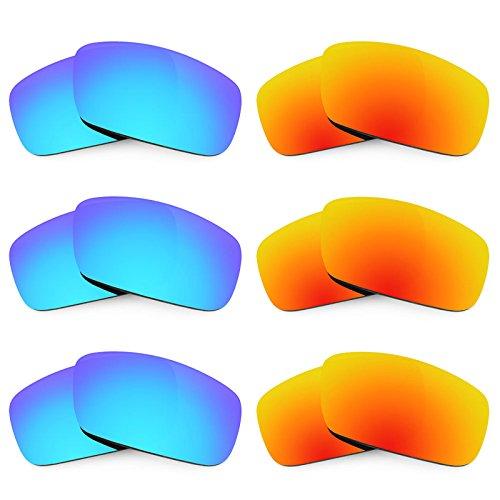 Revant Ersatzlinsen für Spy Optic Logan Polarisiert 6 Paar Kombipack K029