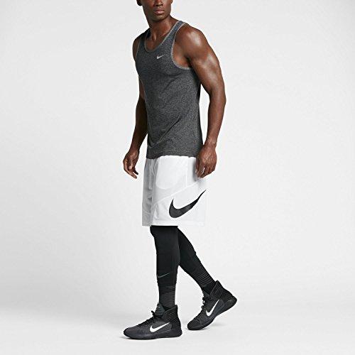 Curto Hbr branco Calças Calções Nk Nike Preto Brancos M Homens 56qZwWX