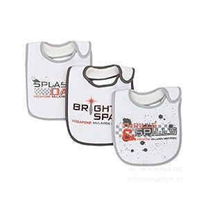 ce26d9fdb Vodafone McLaren Mercedes F1 2013 Baby Bib Set 3 Pack Formula One Gift  Babies