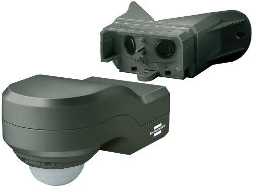 Brennenstuhl Bewegungsmelder Infrarot / Bewegungssensor für Außen und Innen - IP 44 (240° Erfassungswinkel und 12m Reichweite) Farbe: anthrazit