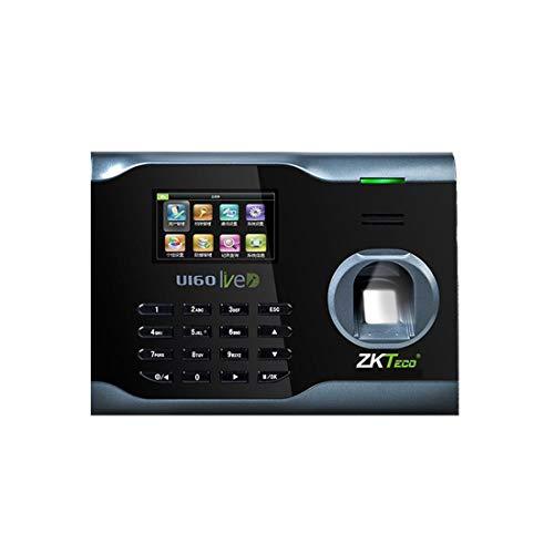 ZJXADS 2,8 Zoll TFT-Bildschirm, Fingerabdruck-Face-Erkennungs-Maschine, Punch Card Machine, Employee Registration Recorder, Interner Ring, Namensschild, Intelligent Update Registration Card