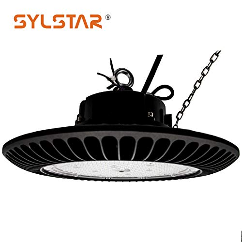 Sylstar LED-hohes Bucht-Licht 100w, 13000Lm 6000K IP65 Dimmbare UFO-Beleuchtung für Lager, Industrie, Fabrik, Handelsgebrauch -