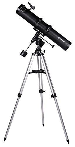 Bresser Spiegelteleskop Galaxia EQ-Sky 114/900 mit Smartphone Kamera Adapter