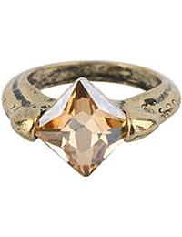 ceed3353539e Punk Cool Horcruxes Piedra de la resurrección Retro Bronce Anillo de  Cristal tamaño 8 Anillos envío