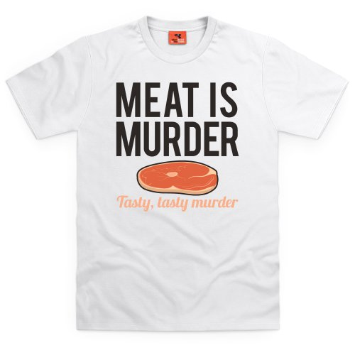 Murder T-Shirt, Herren Wei