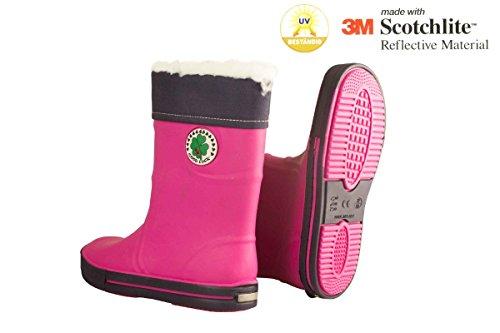 Pink Kinder blau 110954 Regenstiefel Pepperts Yv8qwtSt