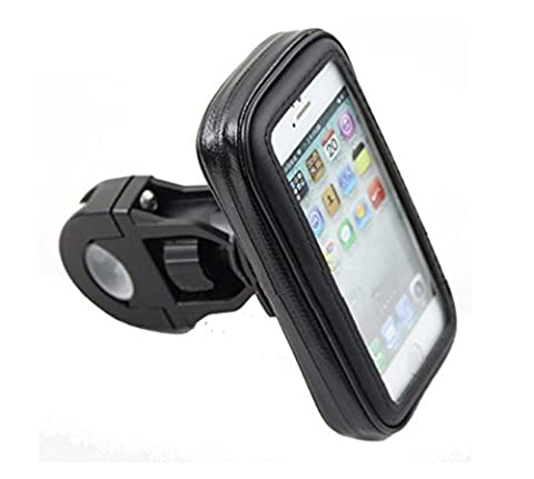 OGTOP VTT Support De Sac De Téléphone Mobile Paquet Imperméable Moto Tour De Navigation Automobile,Black-XL