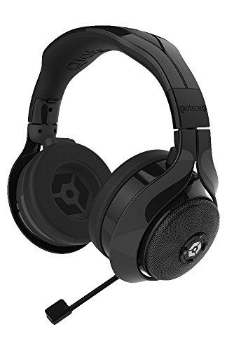 Price comparison product image Gioteck FL300 Wired Stereo Headset with Removable Bluetooth Speakers - Black (PS4/Xbox One/Mac/PC DVD/Playstation Vita)