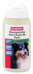 Beaphar Shampooing Anti Chute de Poils pour Chien 200 ml