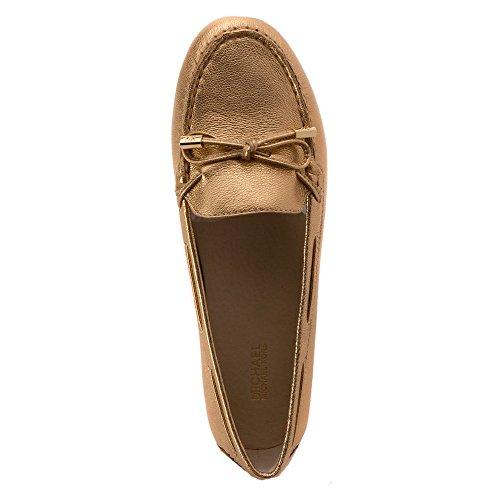 Michael Michael Kors Daisy Moc Moc Toe Leder Loafer Pale Gold