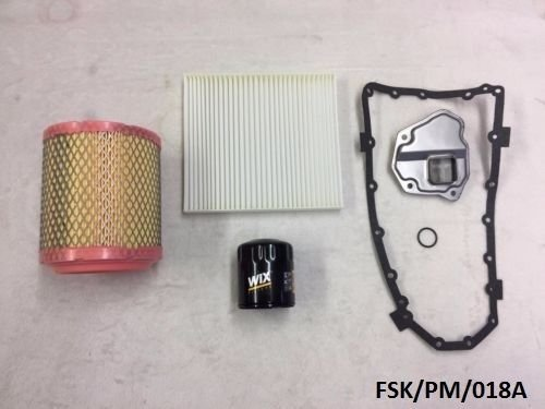 WIX Filters Service KIT Caliber PM 2 0L & 2 4L 2011-2012 CVT