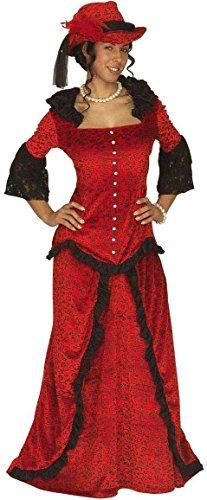 Widmann 3239O - Erwachsenenkostüm Western Lady, Jacke, Rock und Hut, Größe XL (Womens Cowgirl Kostüme)