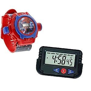 Pappi-Haunt Kids Favorite – Packung mit 2 – Spiderman-Projektor-Armbändern für Kinder, Kinder + Armaturenbrett…
