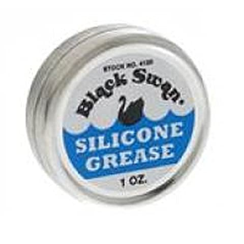 BLACK SWAN SILICONE GREASE 1 oz lubricating faucets valves