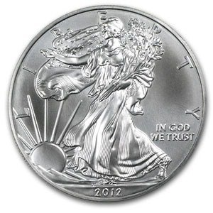 2012 American Silver Eagle Coin 1oz Uncirculated in AirTite by (Mint Uncirculated Coin)
