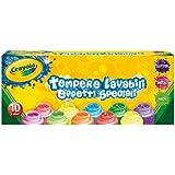 Crayola 3937- 10témperas lavables, efectos especiales, multicolor