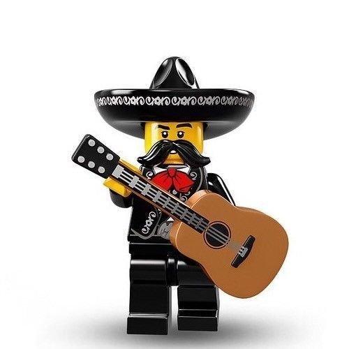 Lego Minifiguren Serie 16 - MARIACHI SPIELER Minifigur In säcken) 71013 (Minifigur Lego Gitarre)