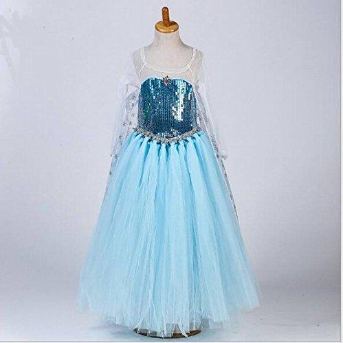Girl 's Kids Prinzessin Kleid Halloween Kleidung Karneval Cosplay Kleid-NEUE VERSION