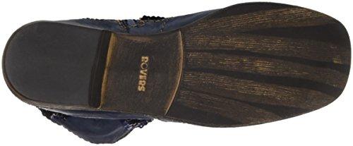 Rovers Rovers, Bottines à doublure froide femme Bleu - Blau (jeans / Jeans)