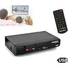 DEC 548N/USB Decodificador televisión TDT anchos de banda VHF y UHF Majestic