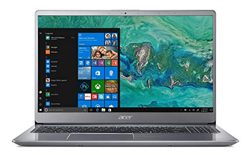 "Acer Swift 3 SF315-52G-84LF Notebook con Processore Intel Core i7-8550U, RAM da 8 GB, 256 GB SSD, Display 15.6"" FHD IPS LED LCD, Scheda grafica NVIDIA GeForce MX150 2 GB GDDR5, Windows 10 Home, Silver"