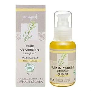 Les huiles végétales de cameline vierge biologique 50 ml